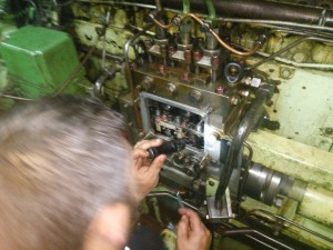 Main Engine Fuel Pump Timing